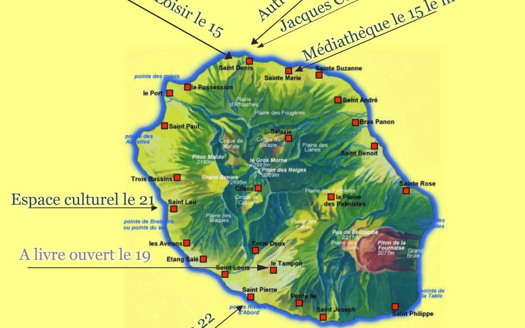 Dédicaces: dates et lieux