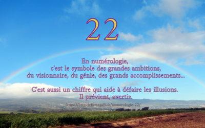 Le nombre 22
