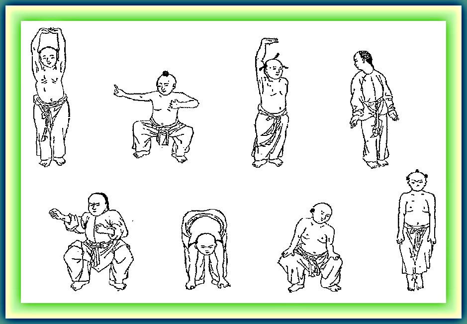 Qi Gong Ba Duan Jin Les 8 trésors